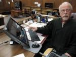 judge and computer in court