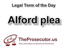 alford plea