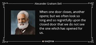 When one door closes another opens